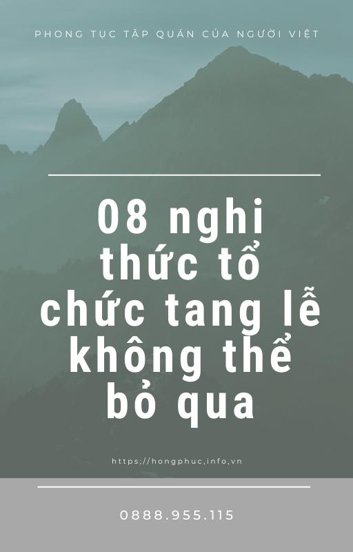 08 nghi thuc to chuc tang le khong the bo qua