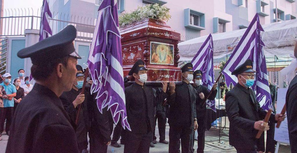 Tổ chức lễ an táng trong đạo Công Giáo